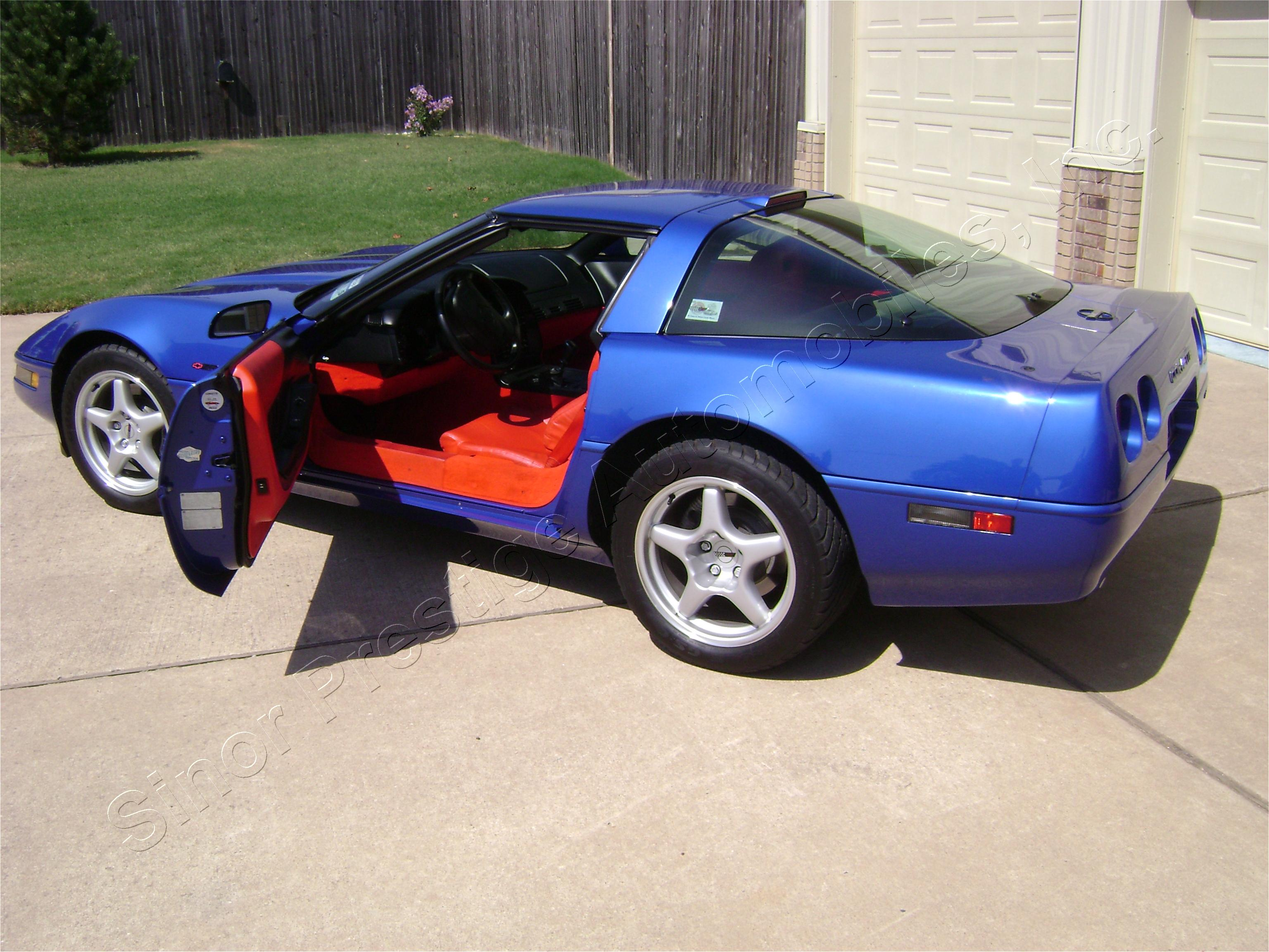 1994 Corvette Zr1 Sinor Prestige Automobiles Inc 1994