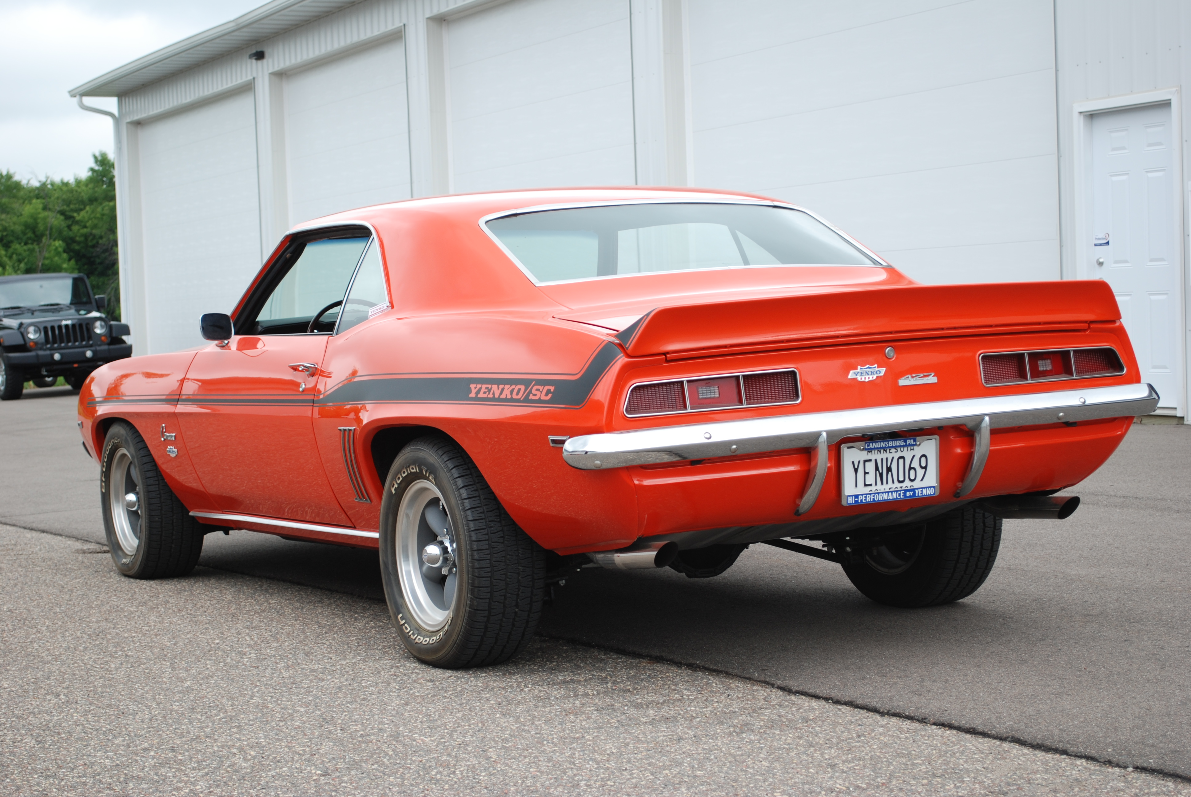 1969 Chevrolet Camaro Yenko Hugger Orange Sinor Prestige