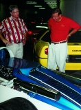 Mike Yager buying CERV 1 from K.D. James at the NCM in June 1997